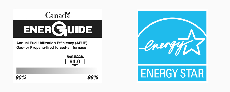 Energy labels Canada